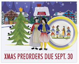 Any items that need to be Preordered from France must be received by Sept. 30 for delivery by Christmas